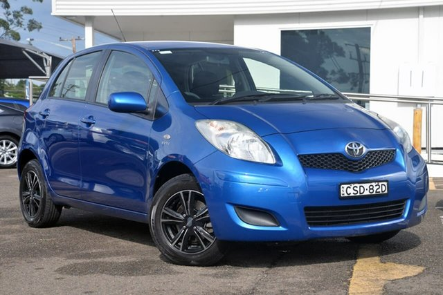 Used Toyota Yaris NCP90R MY10 YR, 2010 Toyota Yaris NCP90R MY10 YR Blue 4 Speed Automatic Hatchback