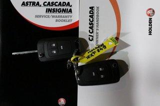 2015 Holden Cascada CJ Black 6 Speed Automatic Convertible
