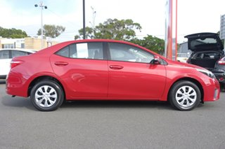 2016 Toyota Corolla ZRE172R Ascent S-CVT Wildfire 7 Speed Constant Variable Sedan.