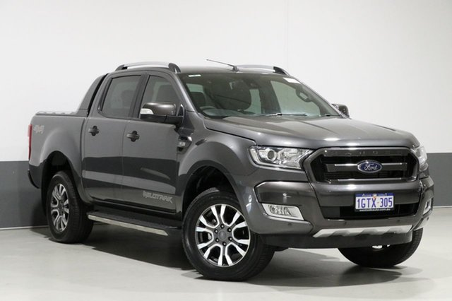 Used Ford Ranger PX MkII MY18 Wildtrak 3.2 (4x4), 2017 Ford Ranger PX MkII MY18 Wildtrak 3.2 (4x4) Grey 6 Speed Automatic Dual Cab Pick-up