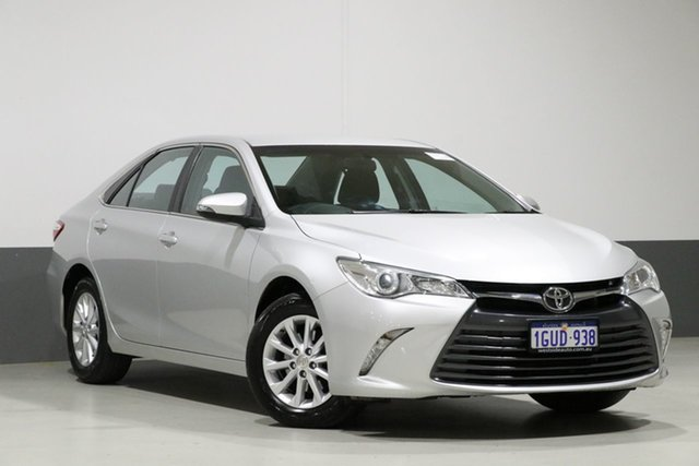 Used Toyota Camry ASV50R MY16 Altise, 2017 Toyota Camry ASV50R MY16 Altise Silver 6 Speed Automatic Sedan