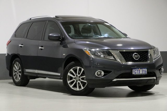 Used Nissan Pathfinder R52 ST-L (4x4), 2014 Nissan Pathfinder R52 ST-L (4x4) Grey Continuous Variable Wagon