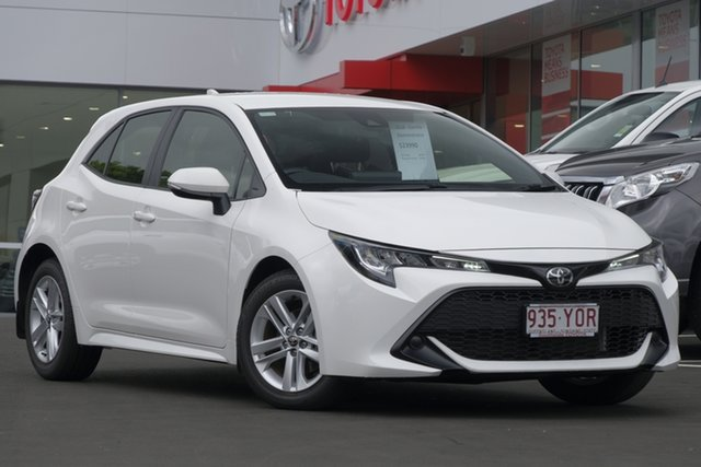Demo Toyota Corolla Mzea12R Ascent Sport, 2018 Toyota Corolla Mzea12R Ascent Sport Glacier White 10 Speed Constant Variable Hatchback