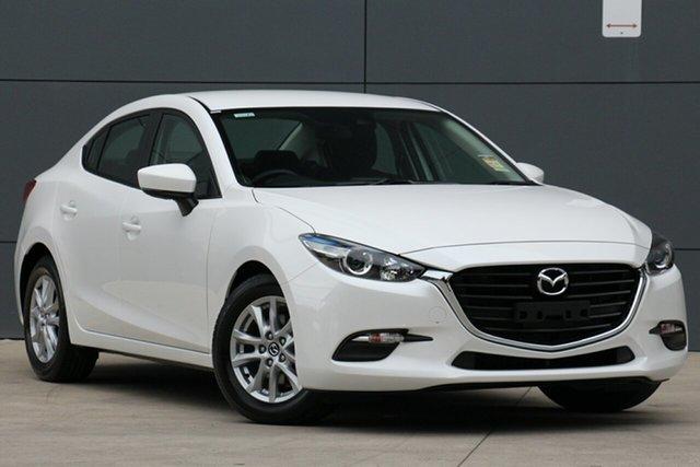 New Mazda 3 BN5278 Neo SKYACTIV-Drive Sport, 2019 Mazda 3 BN5278 Neo SKYACTIV-Drive Sport Snowflake White 6 Speed Sports Automatic Sedan