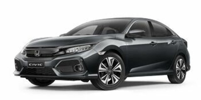 Demo Honda Civic 10th Gen MY18 VTi-LX, 2018 Honda Civic 10th Gen MY18 VTi-LX Modern Steel 1 Speed Constant Variable Hatchback
