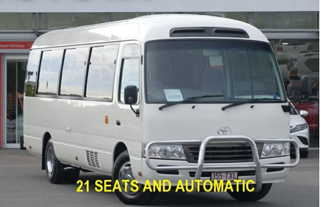 Used Toyota Coaster  , 2014 Toyota Coaster French Vanilla Bus
