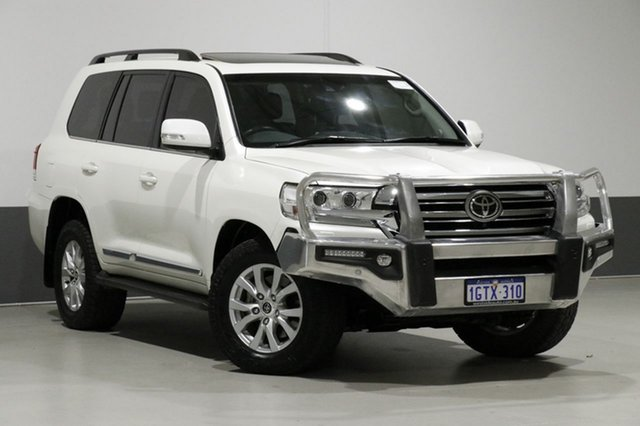 Used Toyota Landcruiser VDJ200R MY16 Sahara (4x4), 2017 Toyota Landcruiser VDJ200R MY16 Sahara (4x4) White 6 Speed Automatic Wagon