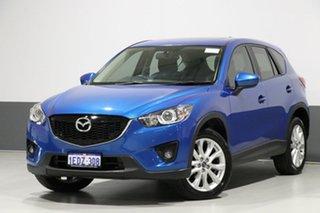 2013 Mazda CX-5 MY13 Grand Tourer (4x4) Blue 6 Speed Automatic Wagon.