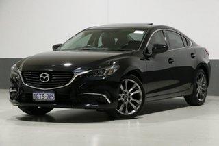 2015 Mazda 6 6C MY14 Upgrade GT Black 6 Speed Automatic Sedan.