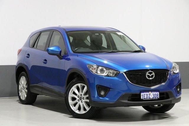 Used Mazda CX-5 MY13 Grand Tourer (4x4), 2013 Mazda CX-5 MY13 Grand Tourer (4x4) Blue 6 Speed Automatic Wagon