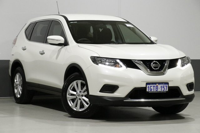 Used Nissan X-Trail T32 TS (FWD), 2017 Nissan X-Trail T32 TS (FWD) White Continuous Variable Wagon