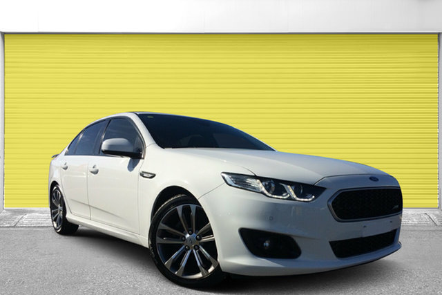 Used Ford Falcon FG X XR6, 2015 Ford Falcon FG X XR6 White 6 Speed Sports Automatic Sedan