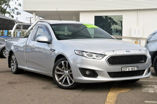 Used Ford Falcon FG X XR6 Ute Super Cab, 2016 Ford Falcon FG X XR6 Ute Super Cab Silver 6 Speed Sports Automatic Utility