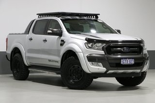2018 Ford Ranger PX MkII MY18 Wildtrak 3.2 (4x4) Silver 6 Speed Automatic Dual Cab Pick-up.