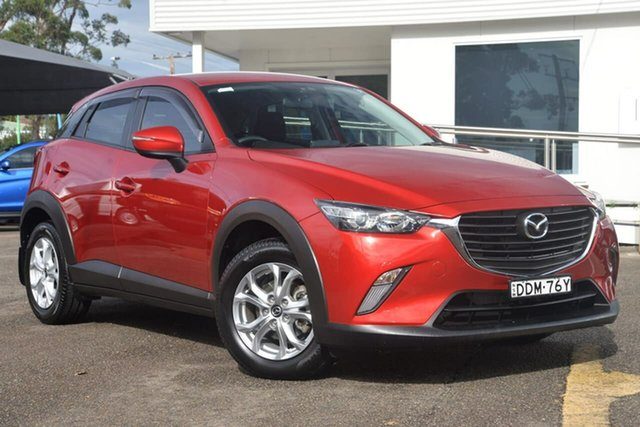 Used Mazda CX-3 DK2W7A Maxx SKYACTIV-Drive, 2016 Mazda CX-3 DK2W7A Maxx SKYACTIV-Drive Red 6 Speed Sports Automatic Wagon