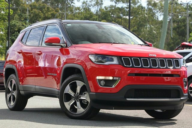 New Jeep Compass M6 MY18 Limited, 2018 Jeep Compass M6 MY18 Limited Colorado Red 9 Speed Automatic Wagon