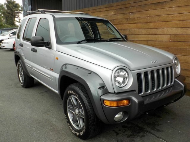 Used Jeep Cherokee KJ MY2003 Red River Sport, 2003 Jeep Cherokee KJ MY2003 Red River Sport Silver 4 Speed Automatic Wagon