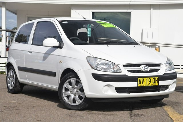 Used Hyundai Getz TB MY07 S, 2008 Hyundai Getz TB MY07 S Noble White 4 Speed Automatic Hatchback