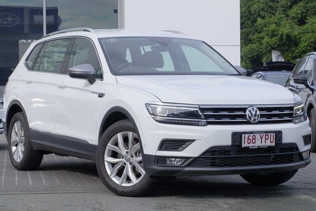 Demo Volkswagen Tiguan 5N MY18 110TDI DSG 4MOTION Comfortline, 2018 Volkswagen Tiguan 5N MY18 110TDI DSG 4MOTION Comfortline Pure White 7 Speed
