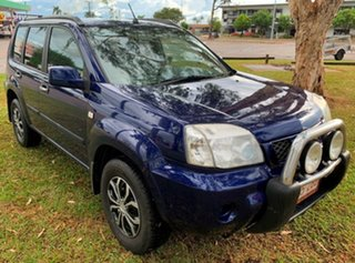 2005 Nissan X-Trail T30 II ST Blue 5 Speed Manual Wagon.