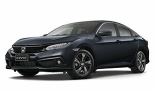 Demo Honda Civic 10th Gen MY19 VTi-LX, 2019 Honda Civic 10th Gen MY19 VTi-LX Cosmic Blue 1 Speed Constant Variable Sedan