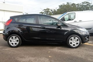 2012 Ford Fiesta WT CL PwrShift Black 6 Speed Sports Automatic Dual Clutch Hatchback.