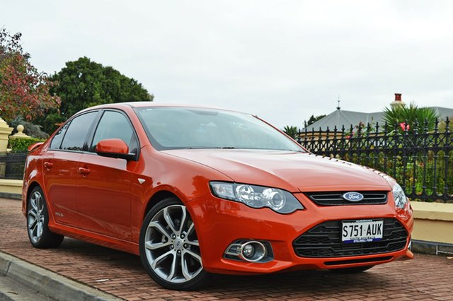Used Ford Falcon FG MkII XR6 Turbo Limited Edition, 2012 Ford Falcon FG MkII XR6 Turbo Limited Edition Orange 6 Speed Sports Automatic Sedan