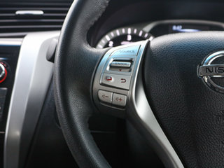 2015 Nissan Navara NP300 D23 ST-X (4x4) Black 6 Speed Manual Dual Cab Utility