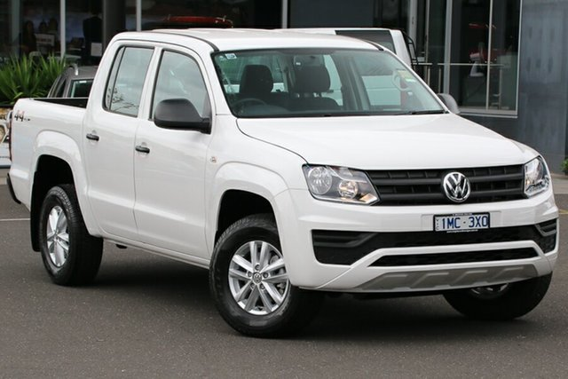 Used Volkswagen Amarok 2H MY18 TDI420 4MOTION Perm Core, 2018 Volkswagen Amarok 2H MY18 TDI420 4MOTION Perm Core Candy White 8 Speed Automatic Utility