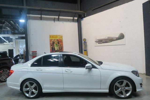 Used Mercedes-Benz C200 W204 MY14 Avantgarde 7G-Tronic +, 2014 Mercedes-Benz C200 W204 MY14 Avantgarde 7G-Tronic + White 7 Speed Sports Automatic Sedan