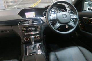 2014 Mercedes-Benz C200 W204 MY14 Avantgarde 7G-Tronic + White 7 Speed Sports Automatic Sedan.