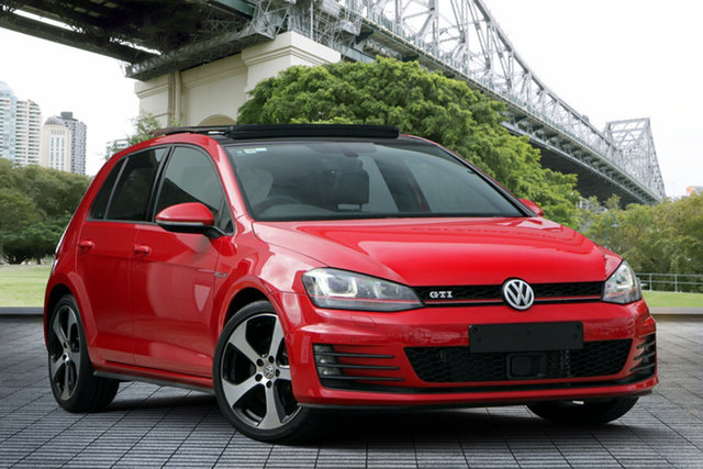 Used Volkswagen Golf VII MY17 GTI DSG, 2017 Volkswagen Golf VII MY17 GTI DSG Red 6 Speed Sports Automatic Dual Clutch Hatchback