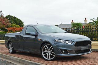 2014 Ford Falcon FG X XR6 Ute Super Cab Turbo Grey 6 Speed Manual Utility.