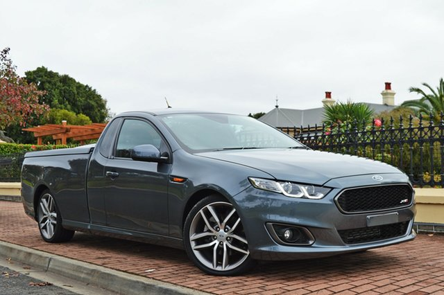 Used Ford Falcon FG X XR6 Ute Super Cab Turbo, 2014 Ford Falcon FG X XR6 Ute Super Cab Turbo Grey 6 Speed Manual Utility