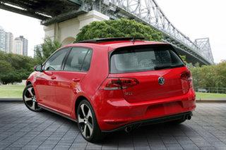 2017 Volkswagen Golf VII MY17 GTI DSG Red 6 Speed Sports Automatic Dual Clutch Hatchback.
