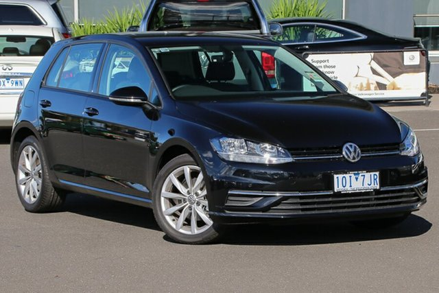 Used Volkswagen Golf 7.5 MY19 110TSI DSG Comfortline, 2018 Volkswagen Golf 7.5 MY19 110TSI DSG Comfortline Deep Black 7 Speed Sports Automatic Dual Clutch