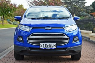 2016 Ford Ecosport BK Trend PwrShift Blue 6 Speed Sports Automatic Dual Clutch Wagon