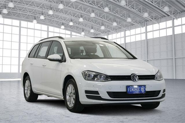 Used Volkswagen Golf VII MY16 92TSI DSG Trendline, 2015 Volkswagen Golf VII MY16 92TSI DSG Trendline White 7 Speed Sports Automatic Dual Clutch Wagon