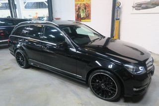 2014 Mercedes-Benz C250 CDI W204 MY14 Avantgarde Estate 7G-Tronic + Black 7 Speed Sports Automatic.