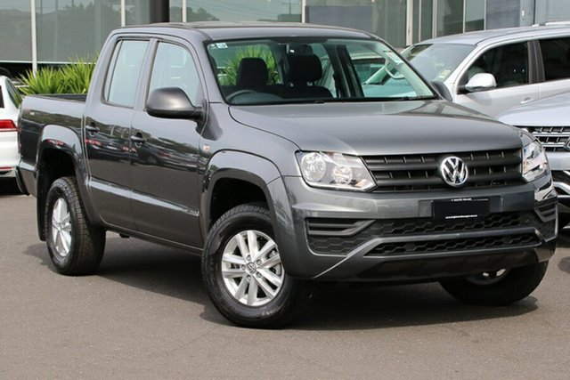 Demo Volkswagen Amarok 2H MY18 TDI420 4MOTION Perm Core, 2018 Volkswagen Amarok 2H MY18 TDI420 4MOTION Perm Core Indium Grey 8 Speed Automatic Utility