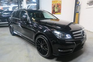 2014 Mercedes-Benz C250 CDI W204 MY14 Avantgarde Estate 7G-Tronic + Black 7 Speed Sports Automatic