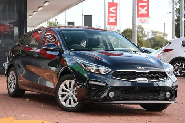 New Kia Cerato BD MY19 S, 2019 Kia Cerato BD MY19 S Gravity Blue 6 Speed Sports Automatic Hatchback