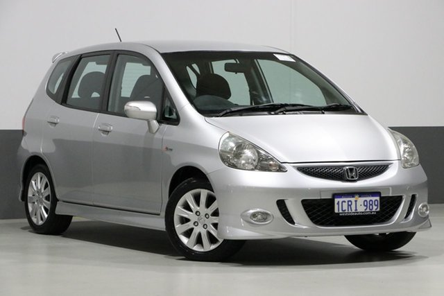 Used Honda Jazz MY06 VTi-S, 2007 Honda Jazz MY06 VTi-S Silver 5 Speed Manual Hatchback