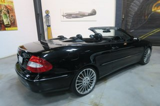 2005 Mercedes-Benz CLK350 A209 MY06 Elegance Black 7 Speed Sports Automatic Cabriolet
