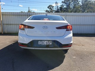 2018 Hyundai Elantra AD.2 MY19 Go Polar White 6 Speed Manual Sedan