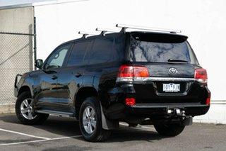2017 Toyota Landcruiser VDJ200R GXL Black 6 Speed Sports Automatic Wagon