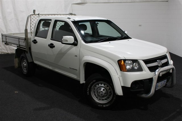 Used Holden Colorado RC MY10.5 LX Crew Cab 4x2, 2010 Holden Colorado RC MY10.5 LX Crew Cab 4x2 Alpine White 4 Speed Automatic Utility