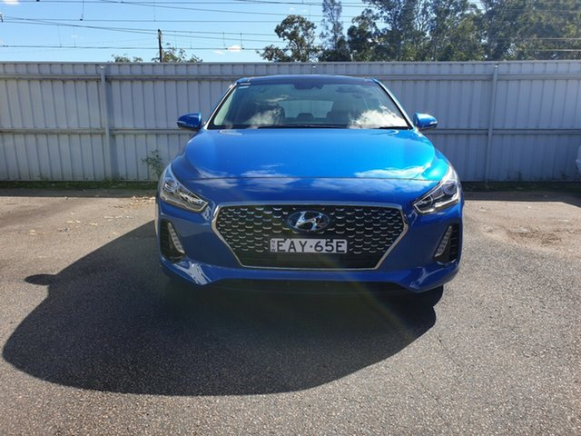 Demo Hyundai i30 PD2 MY18 Premium, 2018 Hyundai i30 PD2 MY18 Premium Marina Blue 6 Speed Sports Automatic Hatchback