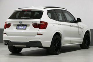 2017 BMW X3 F25 MY17 Update xDrive 20D Alpine White 8 Speed Automatic Wagon