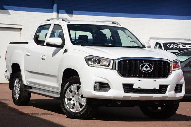 New LDV T60 SK8C Pro, 2018 LDV T60 SK8C Pro Blanc White 6 Speed Sports Aut Utility